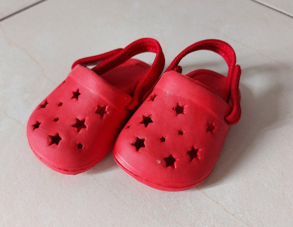Crocs rouges taille 17/18 Etat neuf 3 Taverny (95)