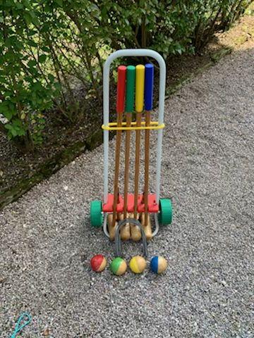 Jeu de croquet  30 Archettes (88)