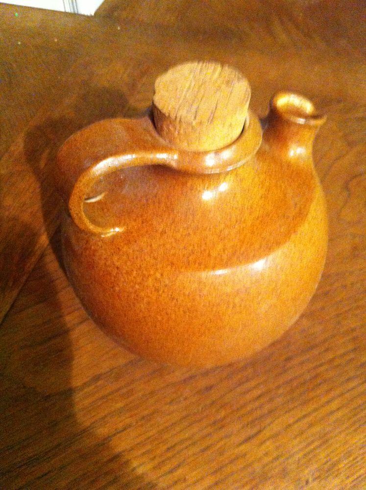Cruche à vin avec bouchon liège (9808)(kh11) 15 Saint-Vallier (71)