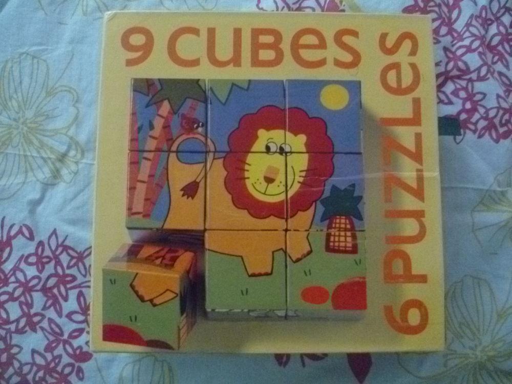 CUBE PUZZLE 9 PIECES Jeux / jouets