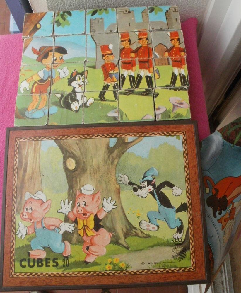 Jeu de cubes Walt Disney Productions 10 Montauban (82)