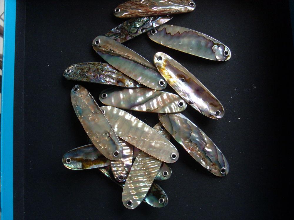Cuillères ondulante nacre 6.5cm 5 Sciez (74)
