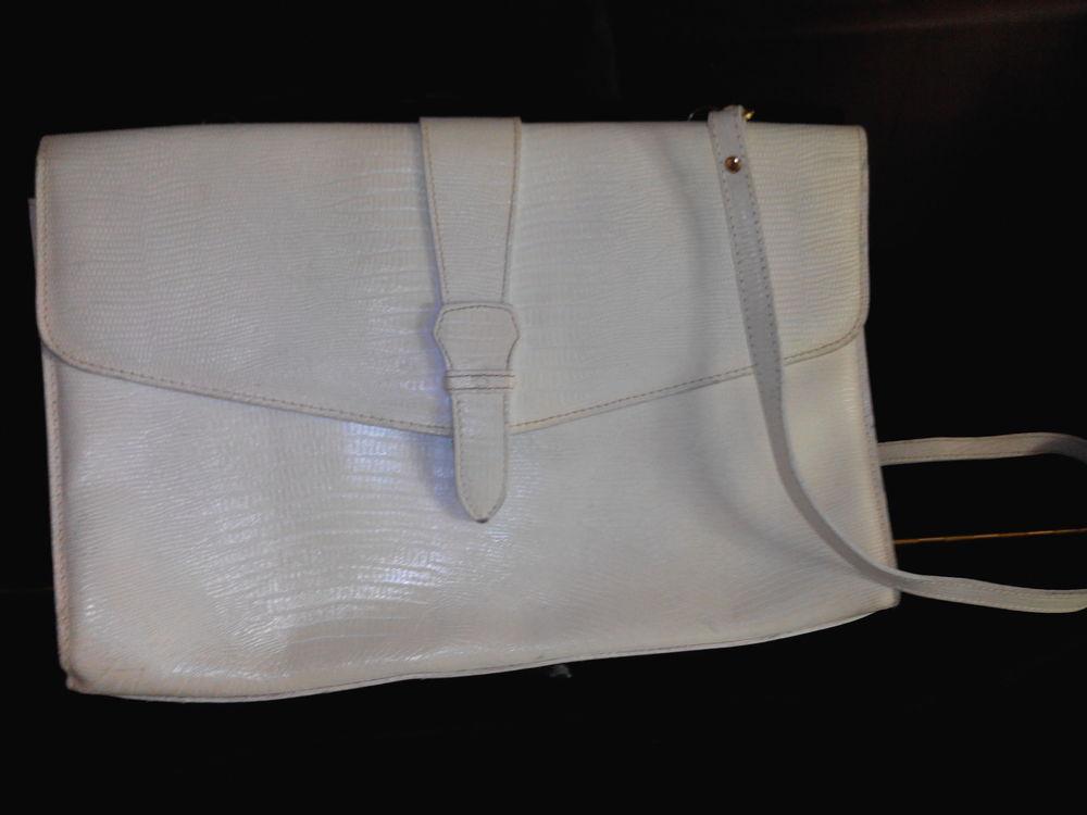 sac cuir blanc La Bagagerie 8 La Falaise (78)