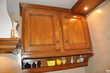 cuisine aménagée en chêne et granit Electroménager