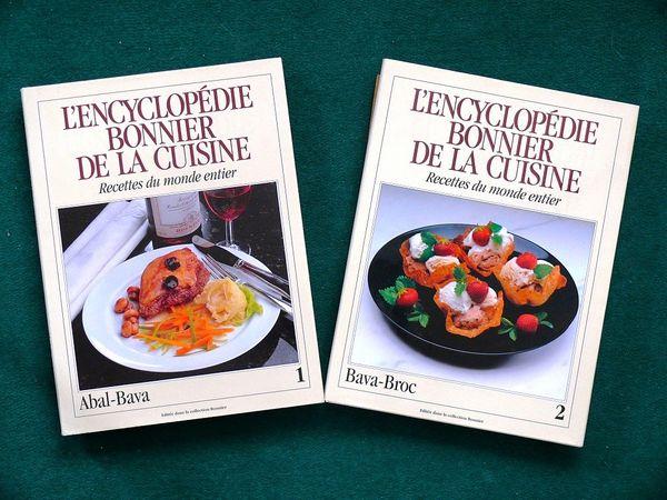 CUISINE - encyclopédie BONNIER / prixportcompris 12 Lille (59)
