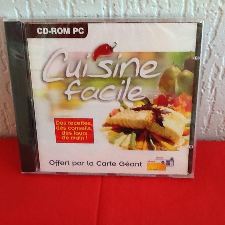 CD-ROM PC  CUISINE FACILE  2 Saint-Etienne (42)