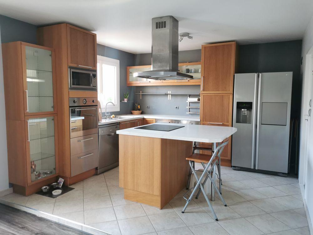 Cuisine Ikea bois et inox 1200 Deuil-la-Barre (95)