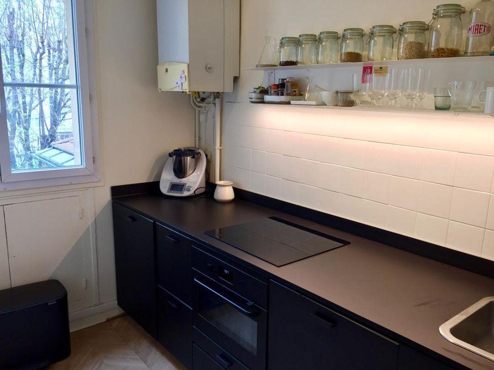 Cuisine IKEA METOD en noir mate avec/sans électroménager  980 Paris 15 (75)