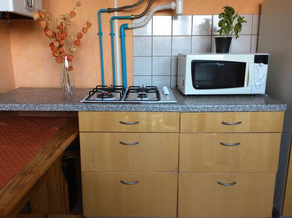 Cuisine intégrée + plaque cuisson gaz 100 Metzervisse (57)