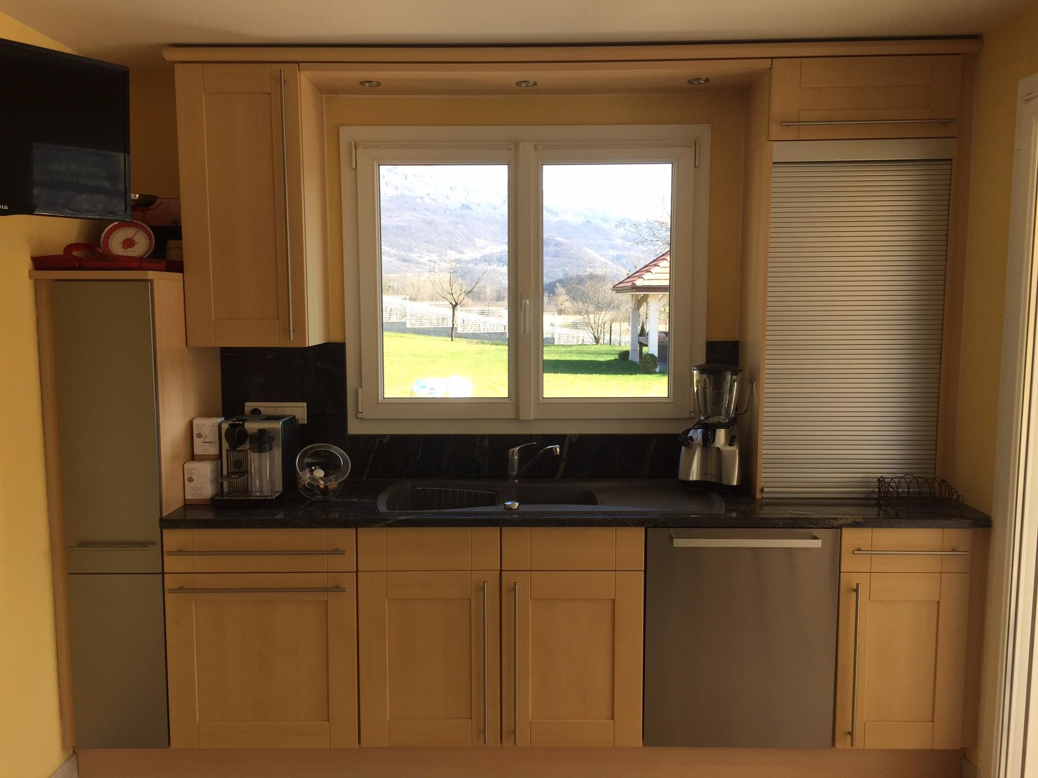 cuisine plan de travail granit noir ak58 jornalagora. Black Bedroom Furniture Sets. Home Design Ideas