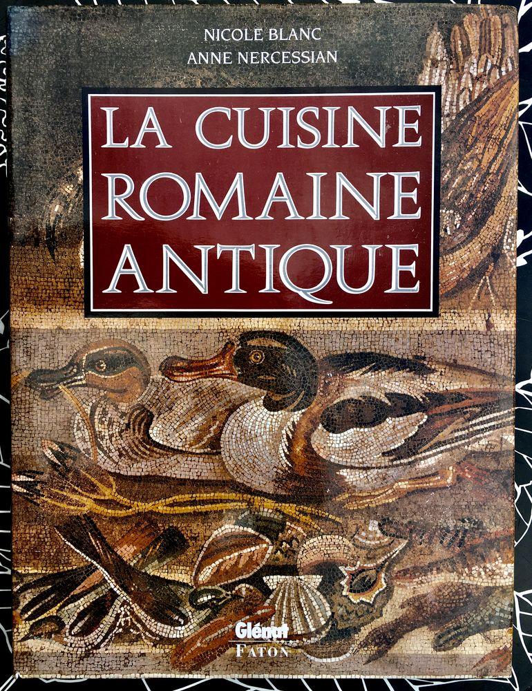 La Cuisine romaine antique chez Glénat,Beau livre d'art neuf 30 L'Isle-Jourdain (32)