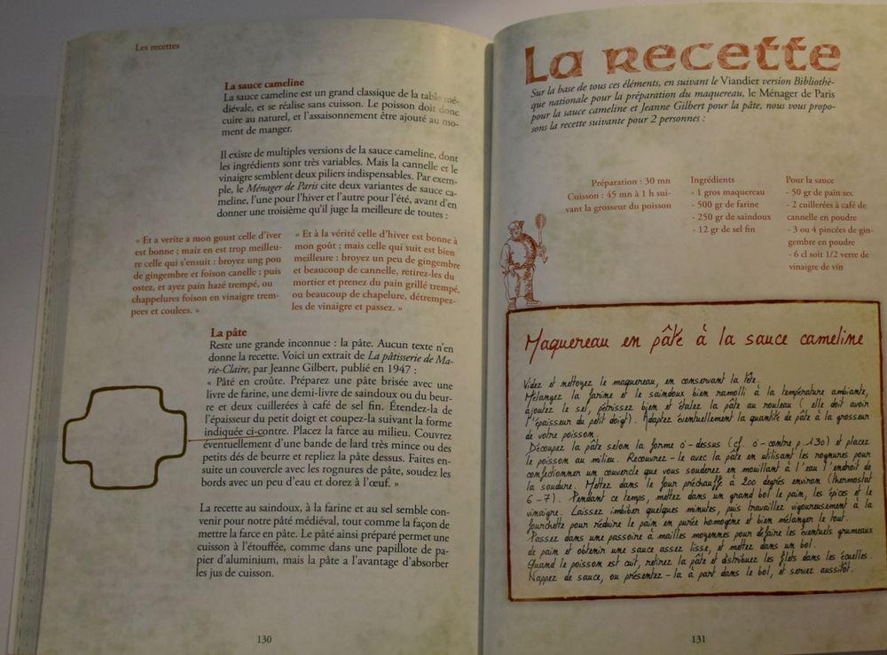Cuisiner comme au temps des Fabliaux - Vincent Albouy 2007 10 Roissy-en-Brie (77)
