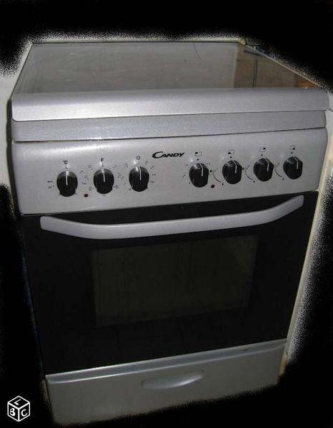 Cuisinière à gaz 60cm four catalyse 200 Sornay (71)
