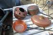 lot de cuivres  ancien Amélie-les-Bains-Palalda (66)