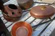 lot de cuivres ancien Décoration