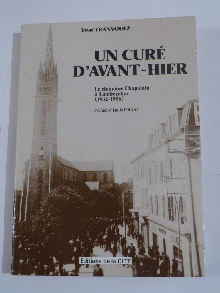 UN CURE D' AVANT HIER  par  YVON TRANVOUEZ 10 Brest (29)