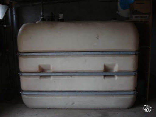Cuve a fioul AVEC 250L environ DE FUEL 300 Velzic (15)