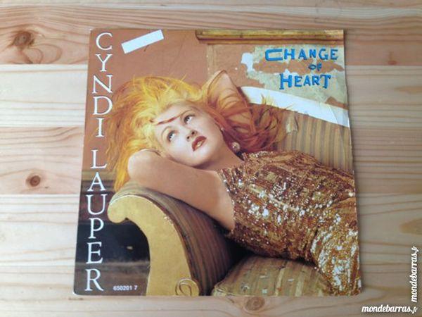 Cyndi Lauper - Change Of Heart (45 T) 3 Dijon (21)