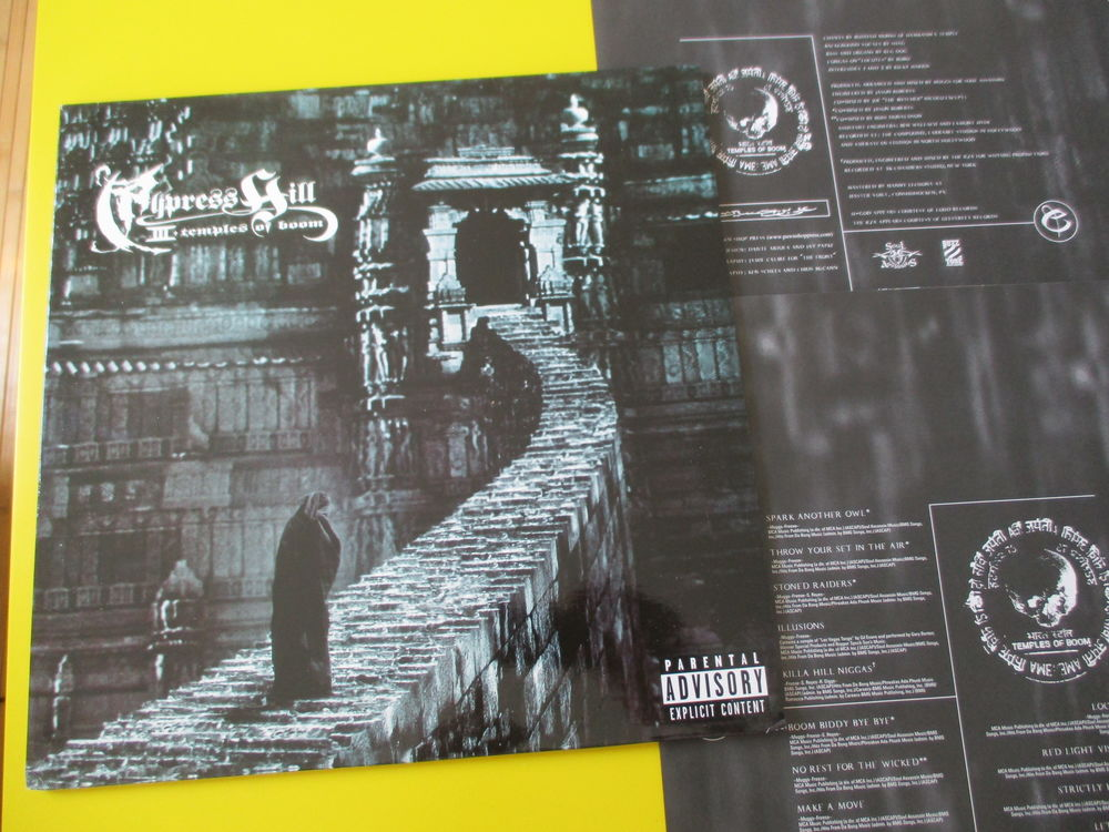 CYPRESS HILL 33 TOURS TEMPLE OOF BOOM FUGEES RZA 48 Lognes (77)