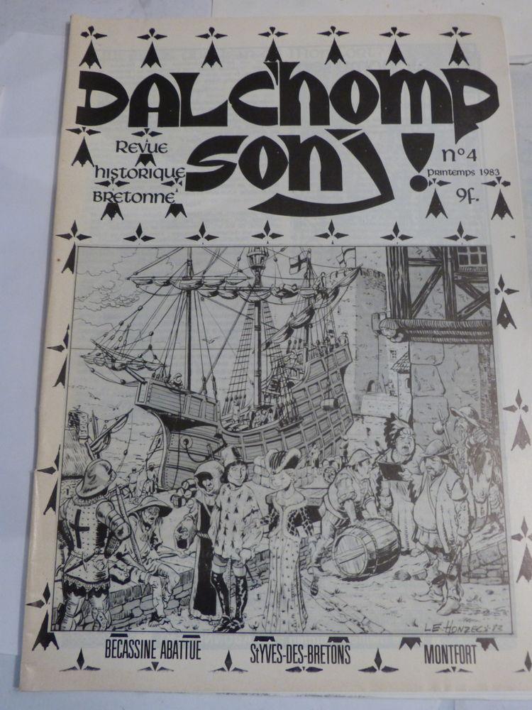 DALCHOMP SONJ N° 4  revue historique  BRETONNE 6 Brest (29)