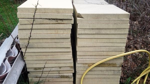 Achetez dalles beton pour occasion annonce vente champis 07 wb152318170 - Dalle terrasse occasion ...