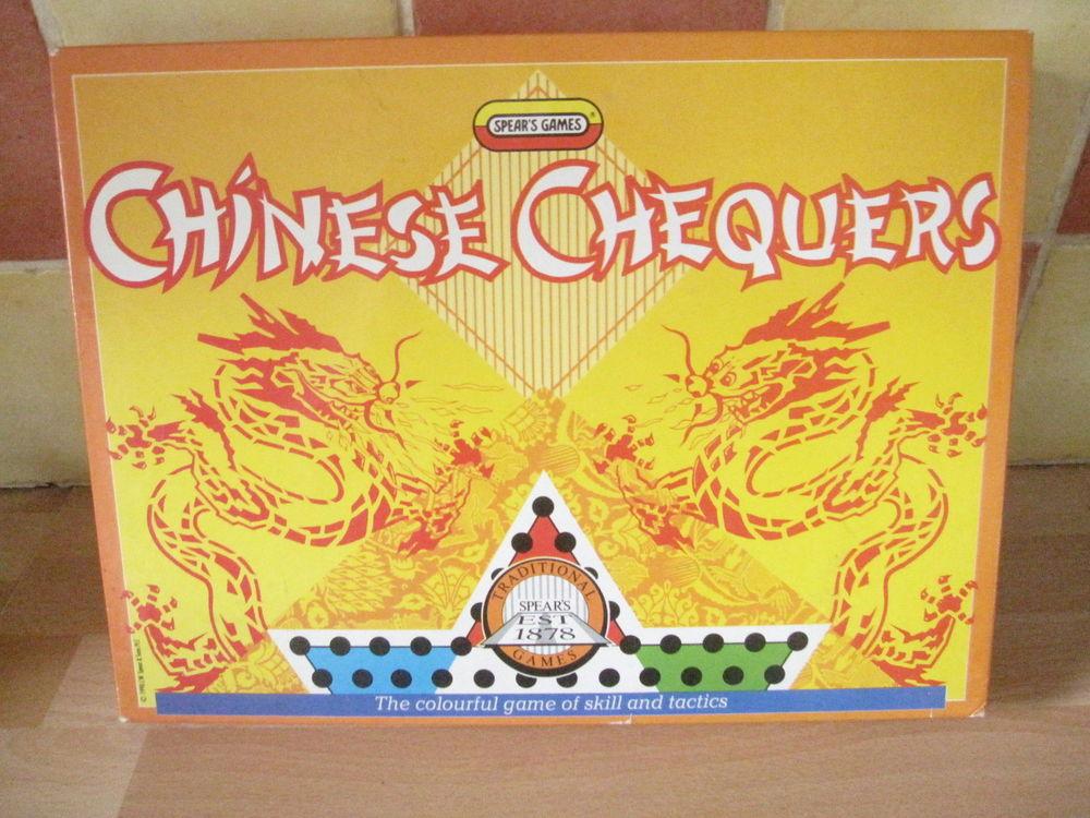 Jeu de dames chinoises spear 6 Saint-Jean-Pla-de-Corts (66)