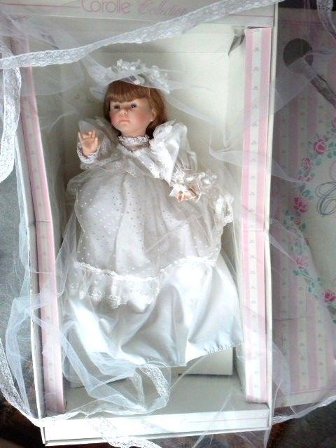 DANS BOÎTE D'ORIGINE : ANGELIQUE LA MARIEE 1992 signée N°  235 Paris 11 (75)