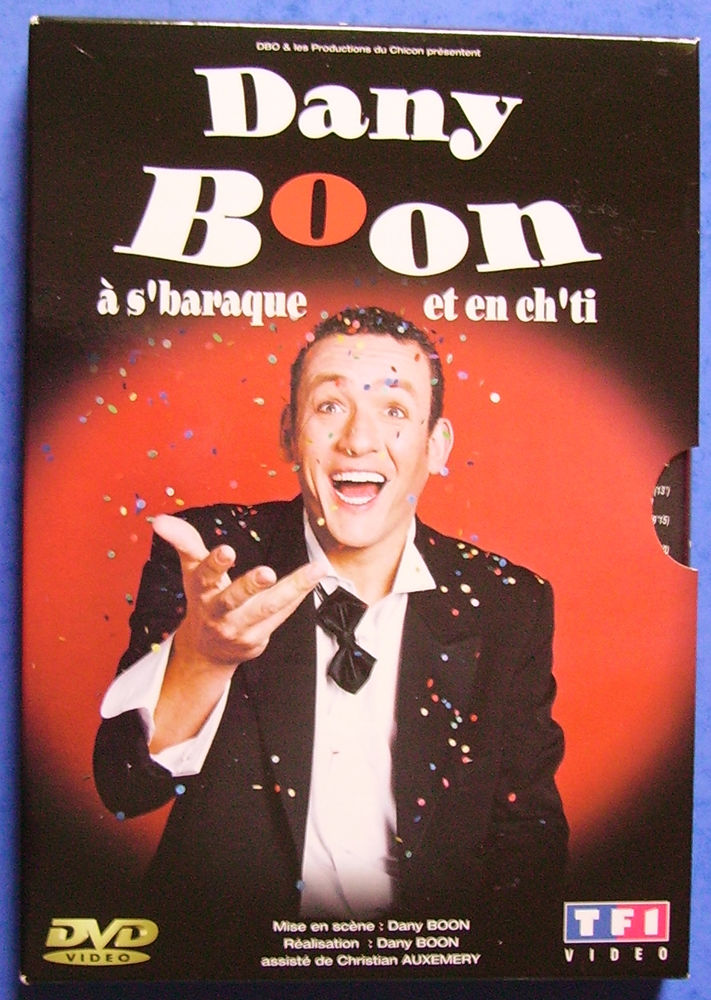 DVD Dany Boon 4 Lille (59)