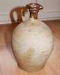 Datant année 1800.  Ancienne cruche pichet en grès. Gujan-Mestras (33)