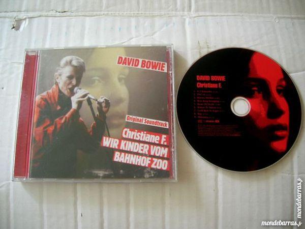 CD DAVID BOWIE Christiane F. 10 Nantes (44)
