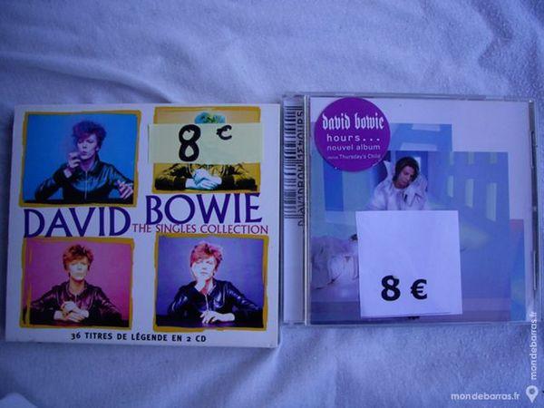CD de David BOWIE et DEPECHE MODE 5 Bouxwiller (67)