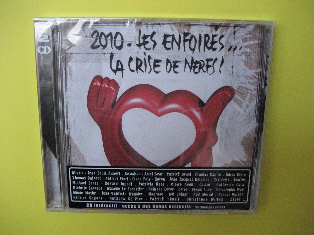 dble CD NEUF   2010 - LES ENFOIRES ... LA CRISE DE NERFS !   5 Reims (51)
