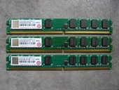 Ram DDR2 3x512Mo (1,5Go) 5 Lyon 9 (69)