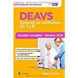 DEAVS Epreuves de certification - Annales corrigées 2015 10 Semoy (45)