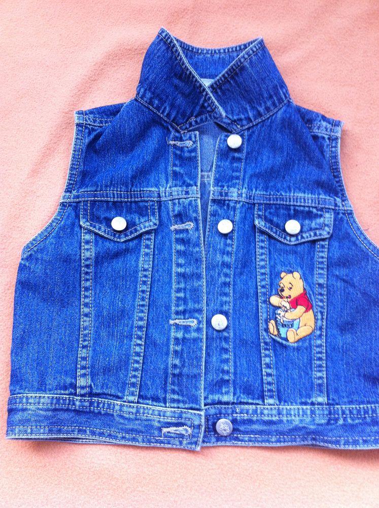 G/A Débardeur en jeans Winnie l'ourson 5 Perpignan (66)