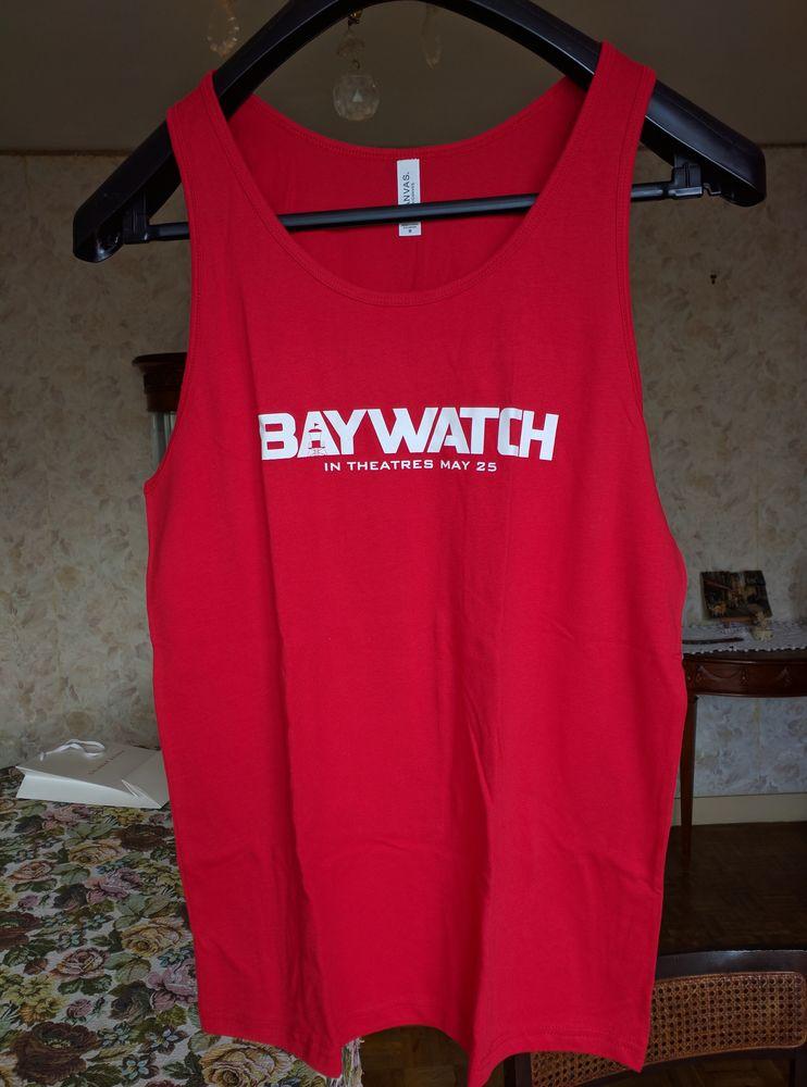 Debardeur neuf Baywatch M et S T-shirt 2017 The Rock 25 Villemomble (93)