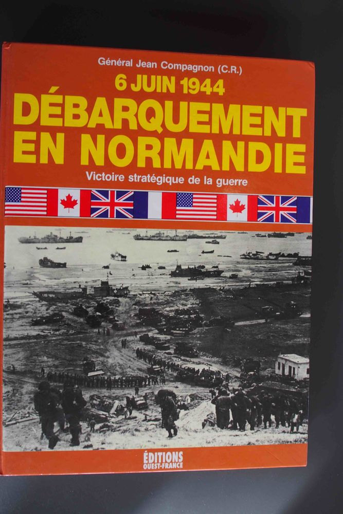 Débarquement en normandie, Livres et BD