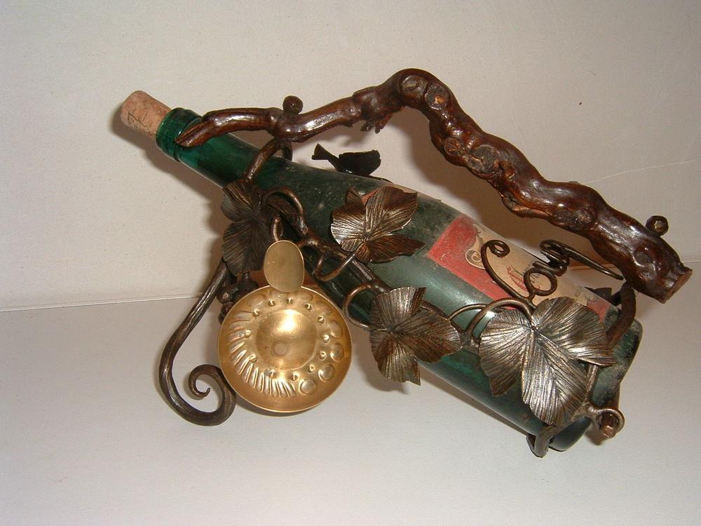 Décanteur Porte bouteille Art Nouveau, Montrachet 75 Arradon (56)