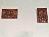 2 Déco murale. 10 Vourles (69)