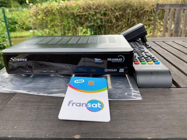 DECODEUR SATELLITE FRANSAT de marque STRONG - SRT 7405 65 Douai (59)