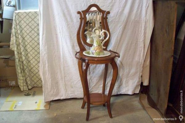 Décoration en bois et vasque émaillé 390 Andrésy (78)