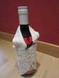 Décoration bouteille - en dentelles de Bruges - Neuf