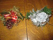 Décoration ou fleurs de noël pour plantes ou autres Décoration