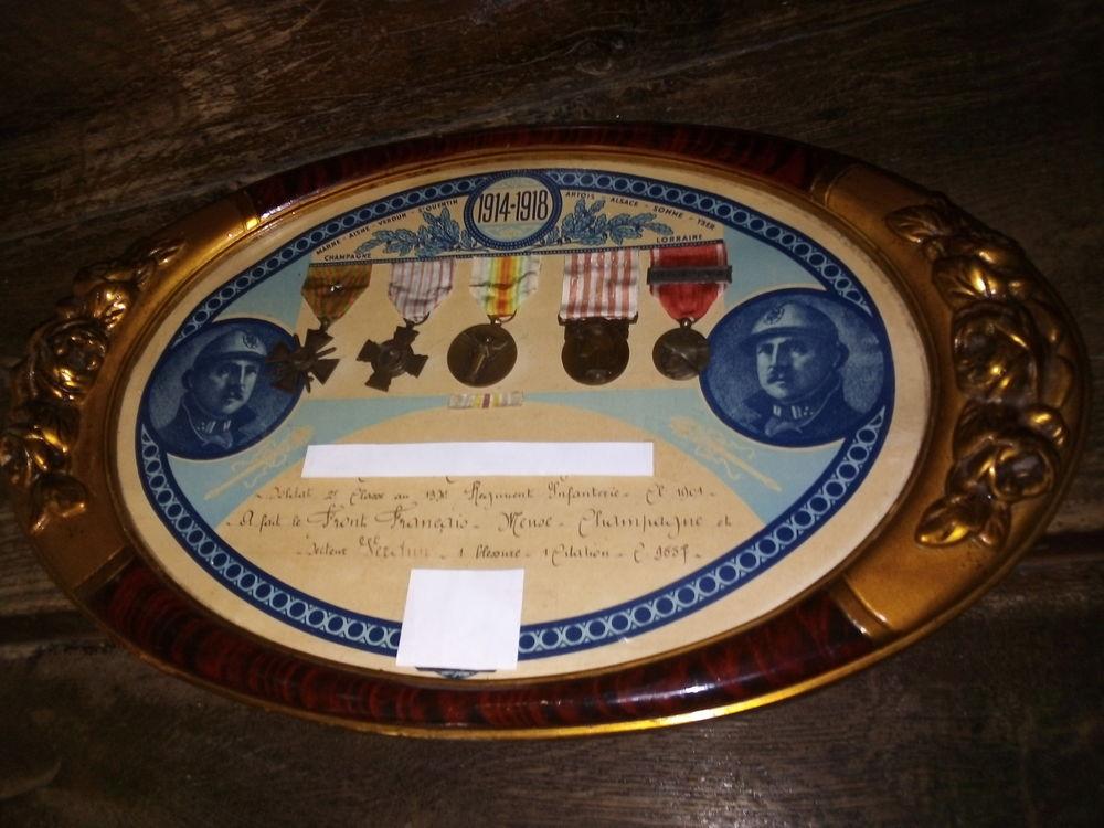 Décoration militaire de 1914-1918 145 Marcigny (71)