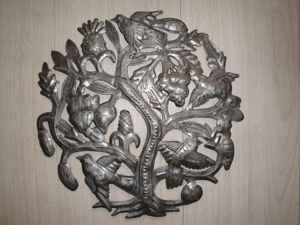 Décoration Murale métal découpé artisanat  haïtien fait main 55 Tassin-la-Demi-Lune (69)