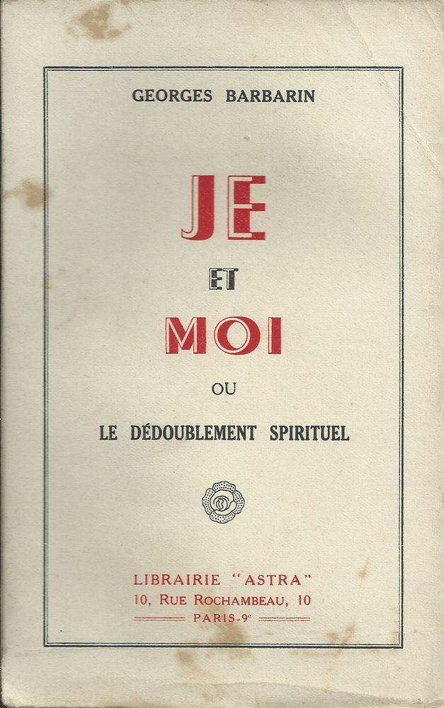 je et moi dédoublement spirituel G,Barbarin 1947 14 Tours (37)