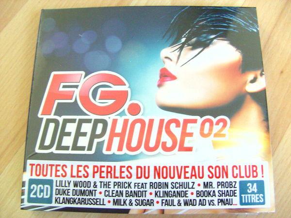 CD FG. Deephouse 02 (Neuf) 15 Ardoix (07)