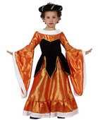 Deguisement costume Dame médiévale orange 7-9 ans 19 Fontenay-sous-Bois (94)