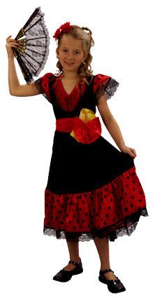 Deguisement costume Danseuse Espagnole 4-6 ans 20 Fontenay-sous-Bois (94)