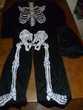 Déguisement 'squelette' taille 6-8ans